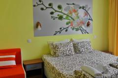 Стая за двама с разтегателен фотьоил